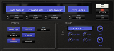 RootBass: Classic tape echo impulses & effects